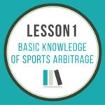 Basic knowledge of sports arbitrage